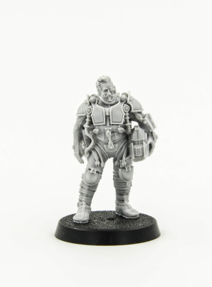 Knight Scion Standing Pilot (Forge World Limited Edition 2015)
