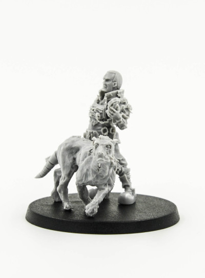 Necromunda Imperial Enforcer with Cyber Mastiff (Forge World Events 2012)  with Additional Unreleased Set