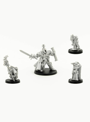 Inquisitor Lord Hector Rex And Retinue