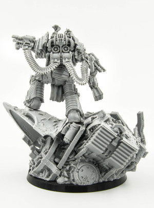 Perturabo Primarch of the Iron Warriors