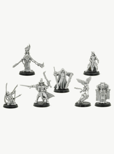 Witch Hunter Inquisitor And Retinue