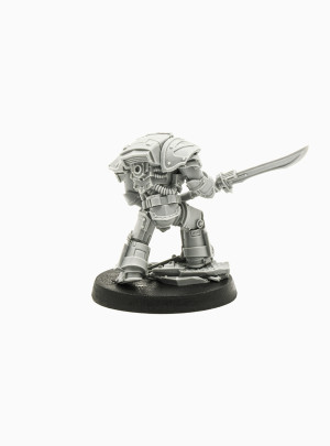 Legion Praetor Tribune in Tartaros Terminator Armor (Forge World Limited Edition 2016)