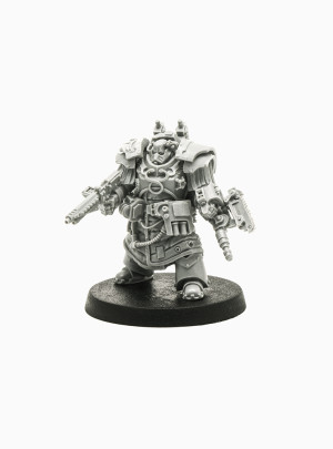 Legion Primus Medicae in Cathaphractii Terminator Armour (Forge World Exclusive)