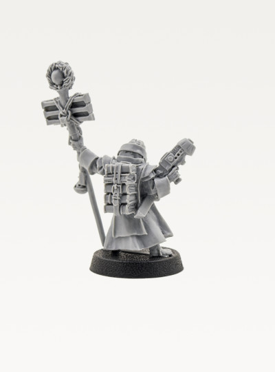Inquisition Acolyte Priest with Plasma Pistol