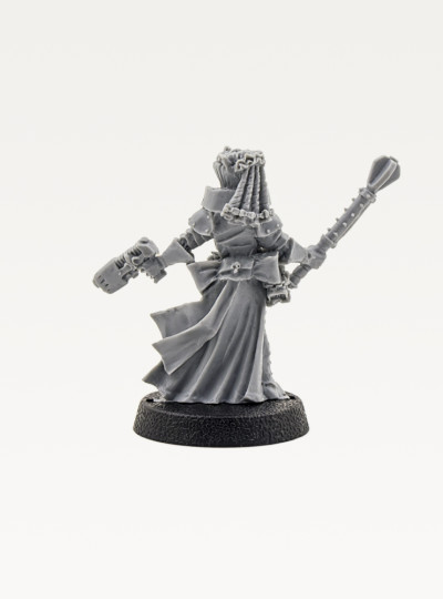 Female inquisitor with Plazma Pistol (Old and Rare)