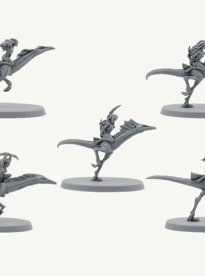 Daemonettes on Steeds of Slaanesh