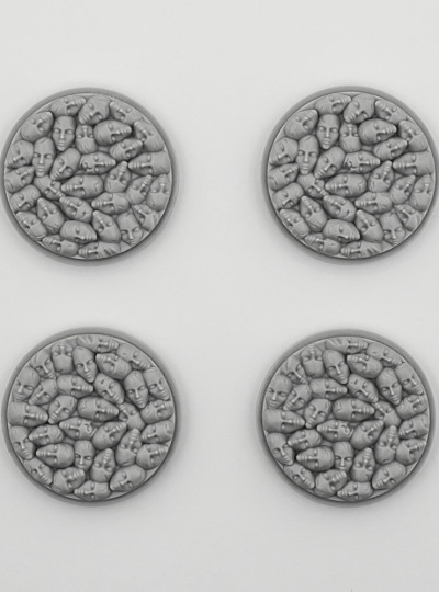 Stone Face Bases 4x30mm