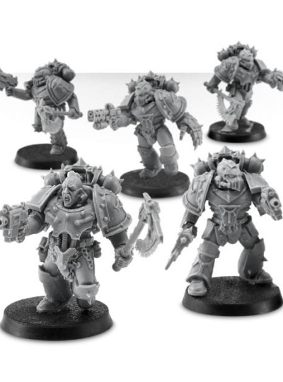 Sons of Horus Reaver Attack Squad