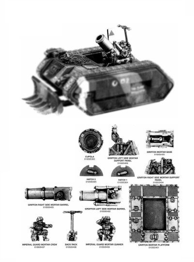 Imperial Guard Griffon 1998 Upgrade Kit