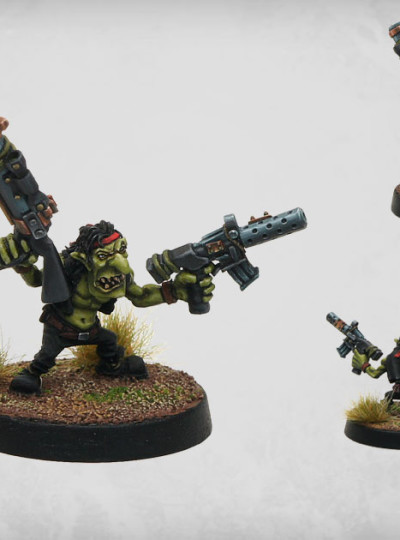 Mean Green Gobbo