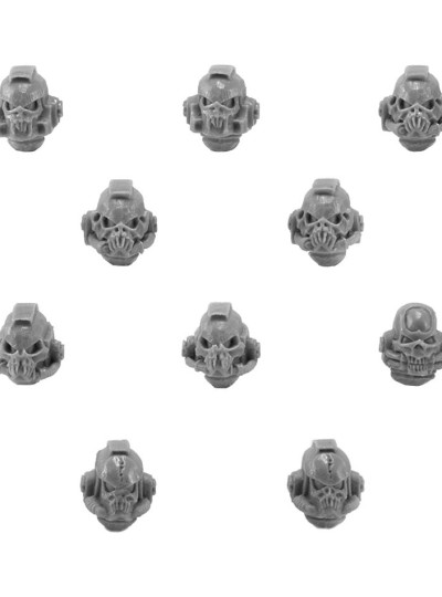 Night Lords Legion Terror Squad Upgrade Pack — Heads