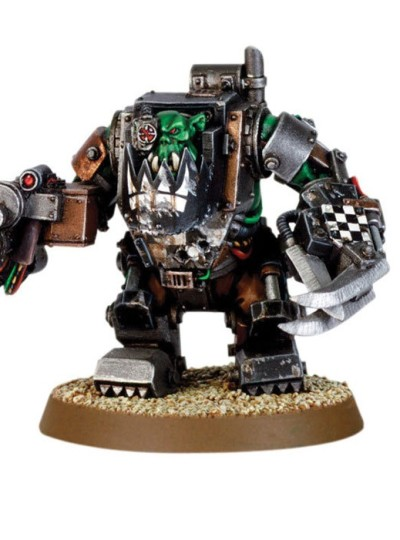 Ork in Mega Armour with Kombi Shoota-Skorcha 2000
