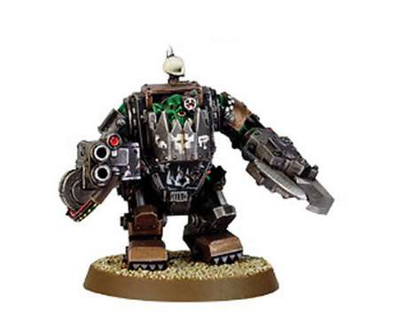 Ork in Mega Armour with Shoota 2000