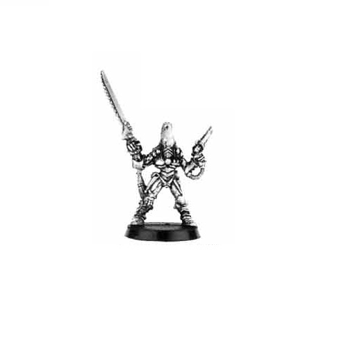 Eldar Striking Scorpions Exarch with Chainsword 1991
