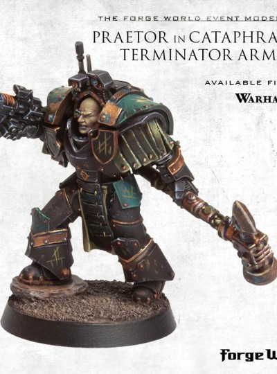 Praetor in Cataphractii Armour (Event Only 2016 Forge World)