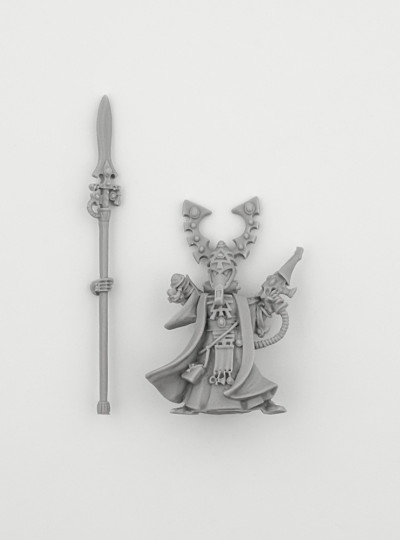 Eldar Farseer with Spear and Shuriken Pistol