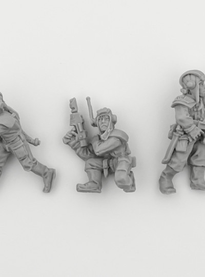 Imperial Guard Tank Crew of Foot