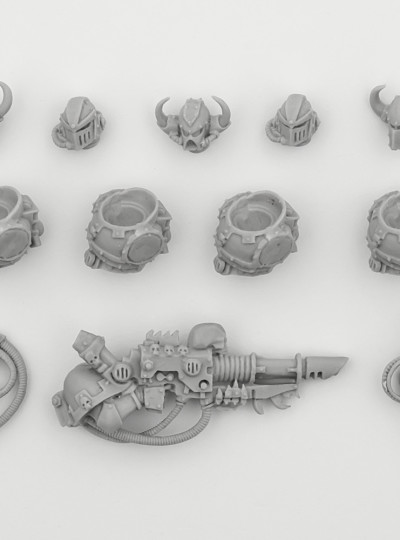 Chaos Space Marines Iron Warriors Upgrade Pack