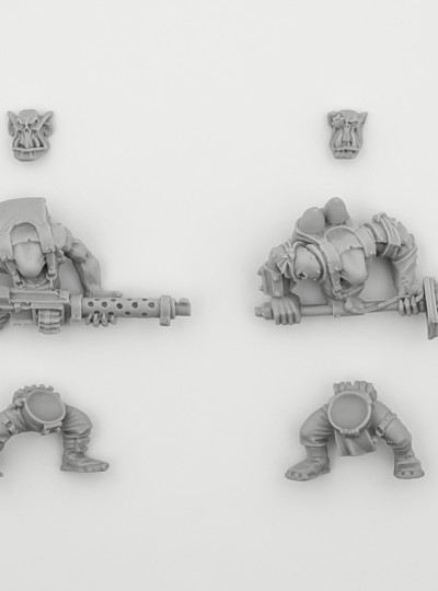 Ork Boyz with Heavy Weapons