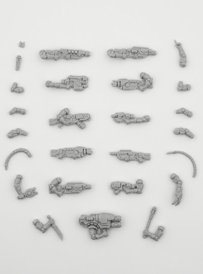 Van Saar Weapon Set 2