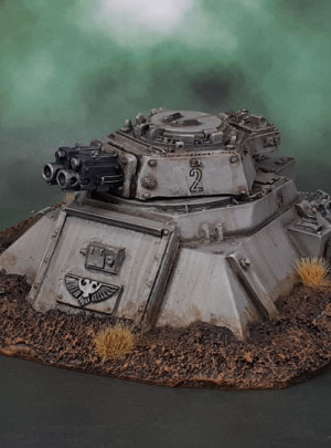 Forgeworld Imperial Heavy Bolter Turret Emplacements