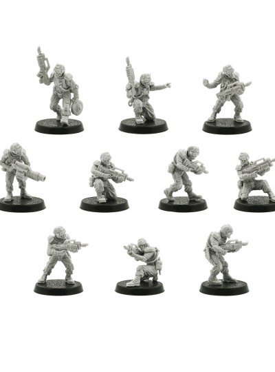 Elysian Drop Troops Squad