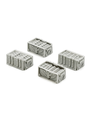 Open Ammunition Crates (OOP Very Rare)