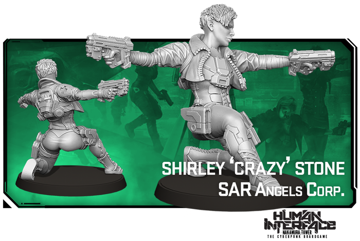 SAR Angels Corp Shirley 'Crazy' Stone
