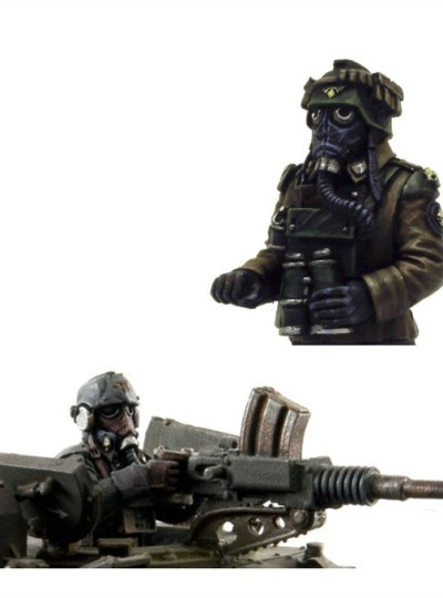 Death Korps of Krieg Tank Commander Set