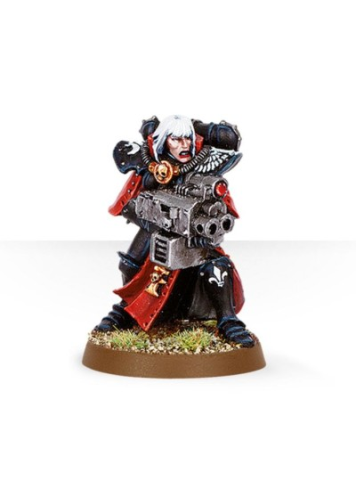 Battle Sister with Storm Bolter #2