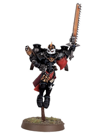 Seraphim Superior with Plasma Pistol and Chainsword