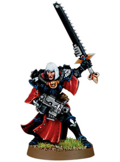 Sister Superior with Chainsword and Bolt Pistol