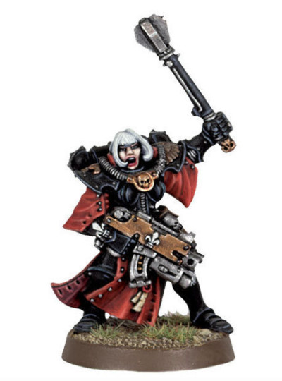Sister Superior with Power Maul and Bolter