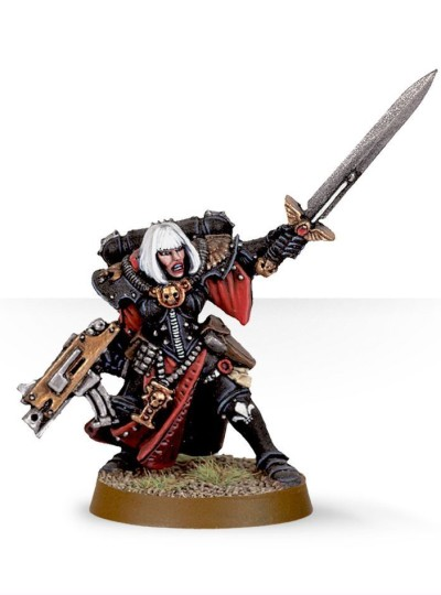 Sister Superior with Power Sword and Bolter