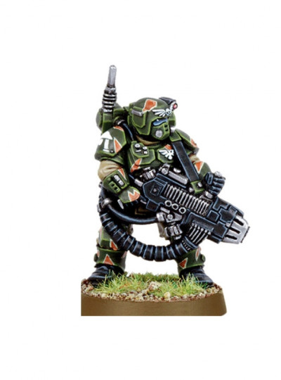 Cadian Kasrkin with Plasmagun