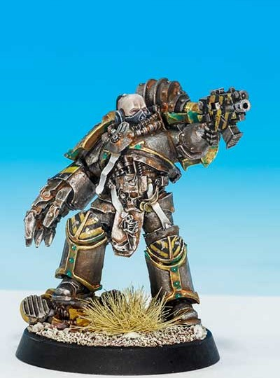 Narik Dreygur, Consul Praevin of the Iron Warriors (Forge World Exclusive 2015)