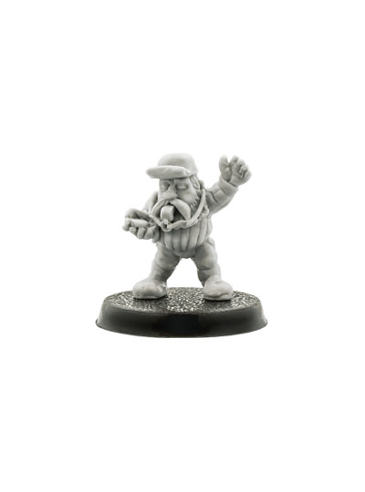 Blood Bowl Dwarf Referee #1
