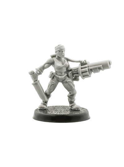 Catachan Female with Grenade Launcher (Very Rare)