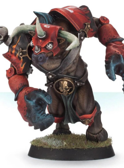 Blood Bowl Mutated Minotaur