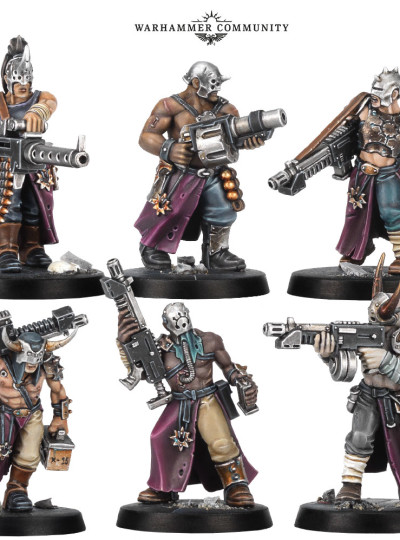 Cultists*6 (Blackstone Fortress)