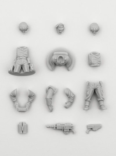 Astra Militarum Tank Crew Accessories