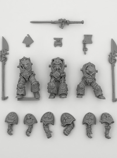 Grey Knights in Terminator Armour 1991
